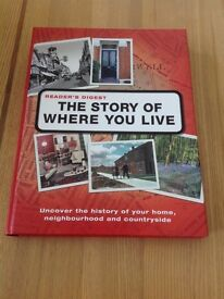 Readers Digest THE STORY OF WHERE YOU LIVE book