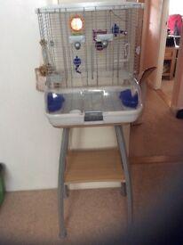 Bird cage plus stand
