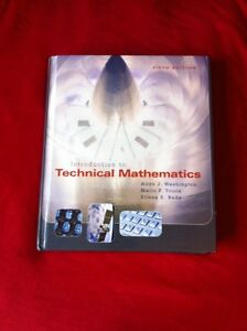 Introduction to Technical Mathematics, text book! Kitchener / Waterloo Kitchener Area image 1