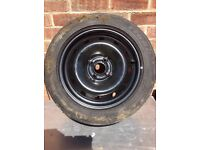 spare wheel and rear lights Clio 04 parcel shelf