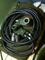 army military 24v boosting slave cable