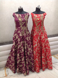 Indian women clothing -Anarkalis and Floor length suits for sale