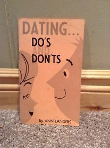 "Ann Landers vintage 1965 ""Dating do's and Don'ts"" booklet Kitchener / Waterloo Kitchener Area image 1"