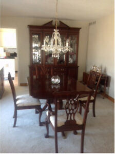 Formal Diningroom Hutchtable And Six Chairs 39500 For All