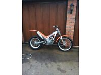 Gas gas 270 trials bike
