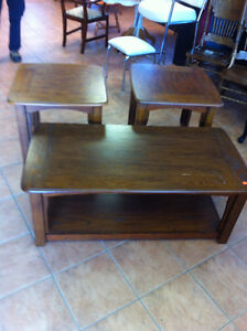 nice coffee and end tables