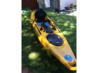 Feelfree moken 12.5 kayak top quality,immaculate con used twice,month old,l@@k