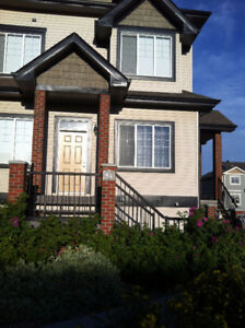 2 BR Town house with basement in Terwillegar, Avail, immediately