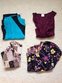 Bundle of ladies tops all size 14