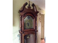 Grandfather clock replica