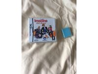 Nintendo DS game imagine girl band