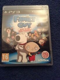 Family guy ps3