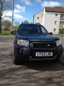 Land Rover freelander £2500 ono