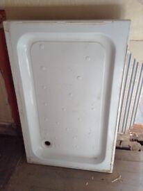 Resin stone shower tray