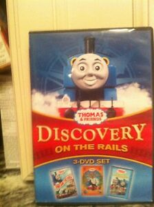 Thomas and friends 3-DVD set