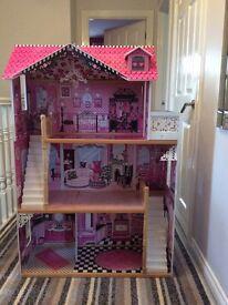 Dolls House - 123cm tall