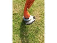 Flymo Contour XT garden strimmer double line and swivel head