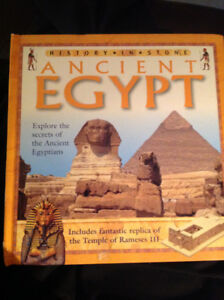 Ancient Egypt Hard Cover by Andrew Langley