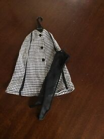 Vintage 1960s Sindy cape and stockings