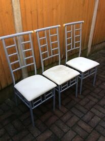 Dining Chairs £5 each or 6 for £25