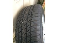Complete tyre and wheel for Landrover freelander