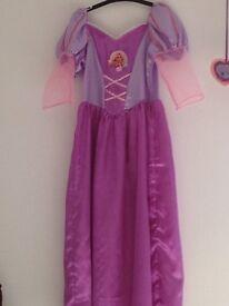Rapunzel dressing up costume