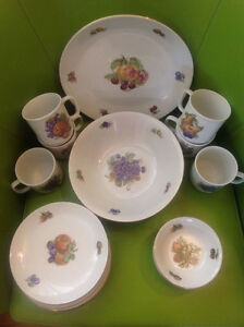 KAHLA PORCELAIN DISHES VAISSELLES Ensemble 20mcx 20pcsSet