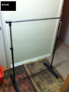 REDUCED TO GO NOW...Adjustable Clothes Rack, Great Deal