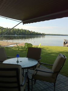 Cottage on Wheels Calabogie Lake Sand Beach July August Vacation