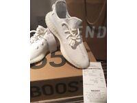 Adidas Yeezy Boost 350 V2 - Cream / White. Brand new with original receipt. SIZE UK 9