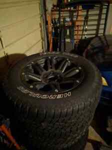 American eagle rims and tires