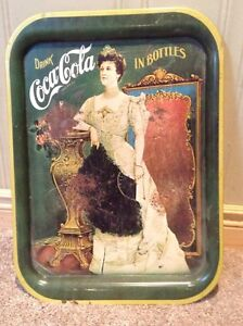 1950's metal Coca Cola tray