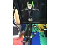 Elevation fitness bicycle