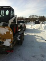 Bobcat/Skid Steer Snow Removal Services