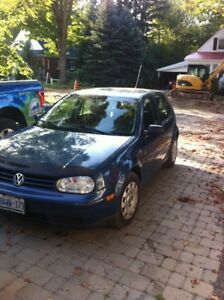 2007 vw city golf