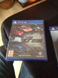 PS4 game new sealed the crew