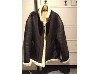 Sheerling sheepskin flying jacket XXL