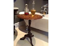 French vintage antique table