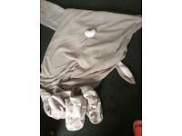 Large rabbit onesie