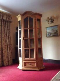 Display cabinet/Linen Press