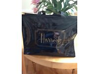Black HARRODS Knightsbridge bag