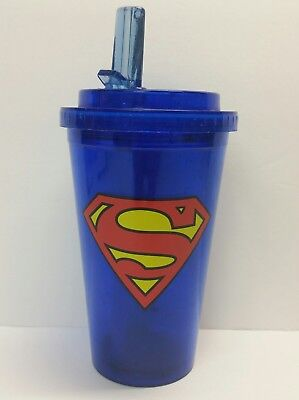 Superman Man Of Steel DC Comics Adult Child Tumbler Sippy Travel Cup