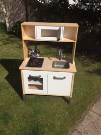Play Kitchen - Ikea DUKTIG , with accessories