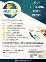 GOT DEBT? WE CAN HELP YOU!-NO WORRIES!, 1ST/2ND MORTGAGES!!
