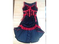 FANCY DRESS/HALLOWEEN COSTUME - Can Can Dancer - Moulin Rouge Costume