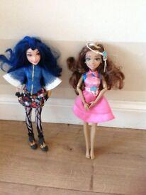 Disney's Descendants dolls Evie and Audrey