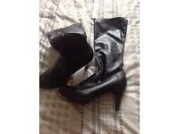 3 pairs of long boots and 4 ankle £8 for long £5 for ankle each