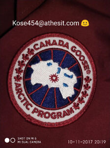 Men's Authentic Canada Goose Chateau Jacket