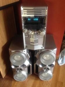 JVC CD Cassette Stereo