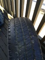 Lt245/75R16 tire with rim